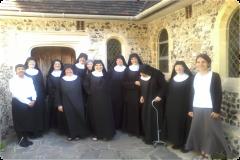 V benediktínskom kláštore v Anglicku