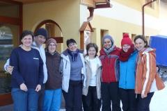 Spoločná foto po lyžovačke